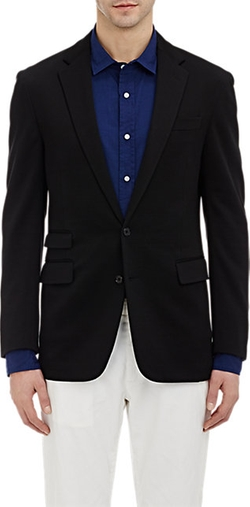 Two-Button Daniel Sportcoat by Ralph Lauren Black Label in Rock The Kasbah