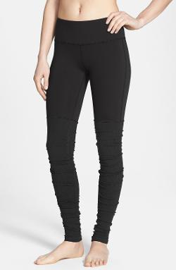 Goddess Ribbed Leggings by Alo in Ouija