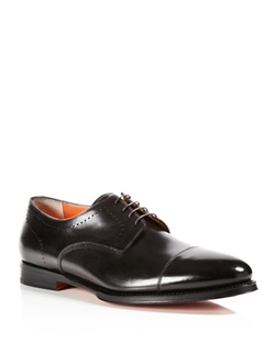 Wilson Oxford Shoes by Santoni in Suits