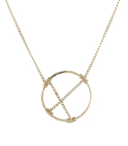 Small Suspension Necklace by Peggy Li in Arrow