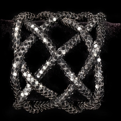 Metal Mesh Divinity Bracelet by Michael Schmidt in American Horror Story