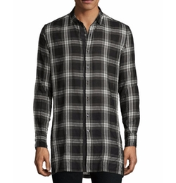Plaid Woven Sport Shirt by Ovadia & Sons in Silicon Valley