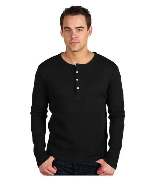 Ribbed L/S Henley by Shades of Grey in The Expendables 3