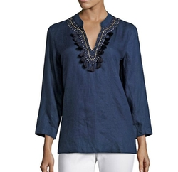 Amelia Island Tunic Top by Lilly Pulitzer in Snatched