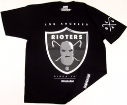 Streetwise Rioters T-Shirt by West Coast Republic in Ballers