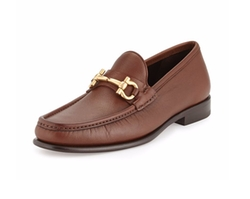 Mason Textured Calfskin Gancini Loafers by Salvatore Ferragamo in Scream Queens