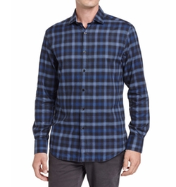 Shadow Plaid Sport Shirt by The Good Man Brand in Daddy's Home 2