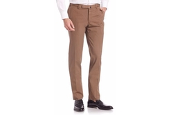 Slim Batavia Flat Front Pants by Incotex in Scream Queens