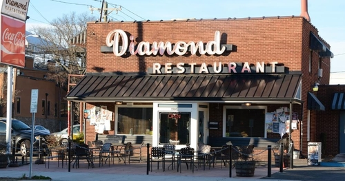 Diamond Restaurant Charlotte, North Carolina in Ashby