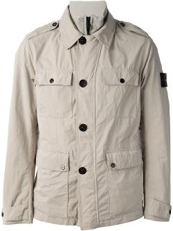 Soft Field Jacket by Stone Island in The Other Woman