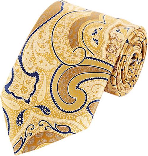 Paisley-Print Neck Tie by Ermenegildo Zegna in Suits - Season 5 Episode 8