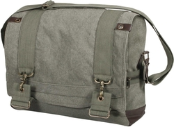 Large  B15 Pilot Messenger Bag Sling Flap - Olive Drab by Rothco in Jessica Jones