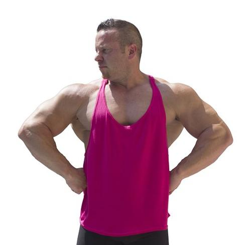 Original Men's Y-Back Stringer Tank Top by Physique Bodyware in Pain & Gain