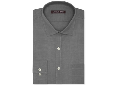 Textured Solid Dress Shirt by Michael Kors in The Gift