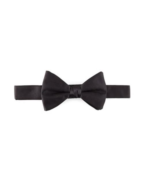 Pre-Tied Satin Bow Tie by Neiman Marcus in The Best of Me