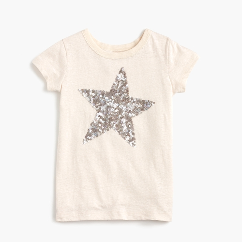 Girls' Sequin Star T-Shirt by J.Crew in Modern Family - Season 8 Episode 4