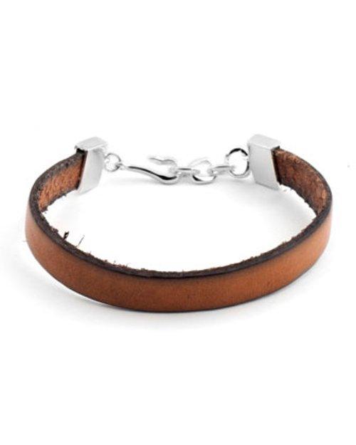 Leather Silver-Hook Bracelet by Tateossian in San Andreas