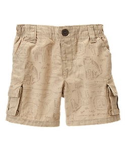 Animals Cargo Shorts by Rainforest in Southpaw