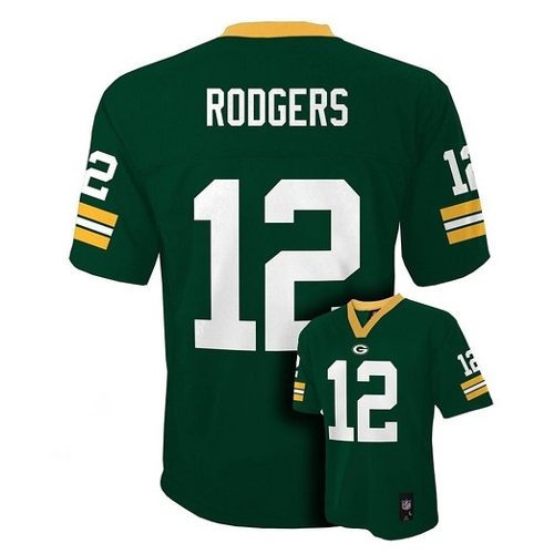 Aaron Rodgers Green Bay Packers Shirt by Outerstuff in Dope
