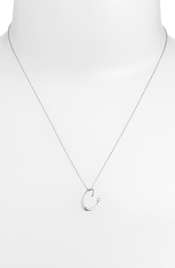 Initial Pendant Necklace by Kwiat in Mean Girls
