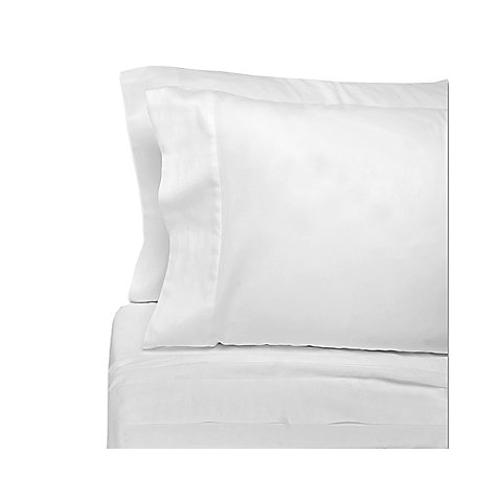 Eugenia Linens Classic Bedding Cotton Sateen Sheet Sets in White by Bed Bath & Beyond in Lucy