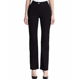 Marie Twill Pants by St. John in The Boss