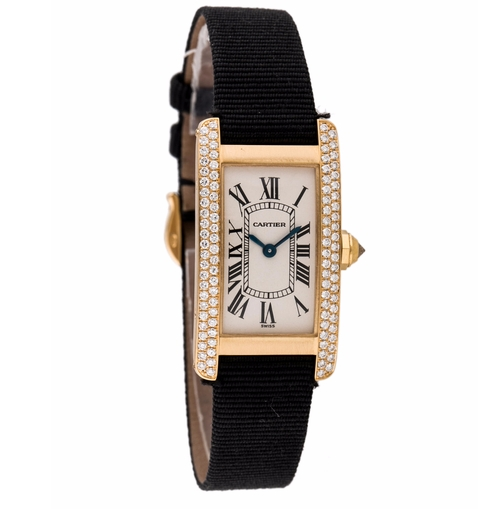 Tank Americane Watch by Cartier in How To Get Away With Murder - Season 3 Episode 9