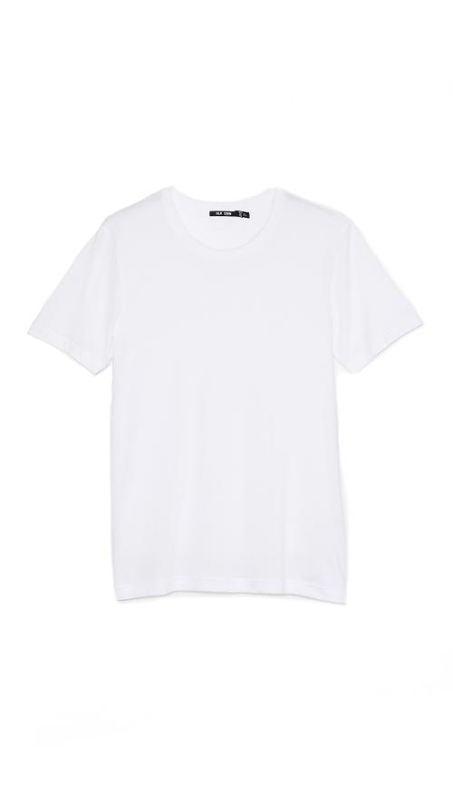Classic Crew Neck T-Shirt 3 by BLK DNM in Let's Be Cops