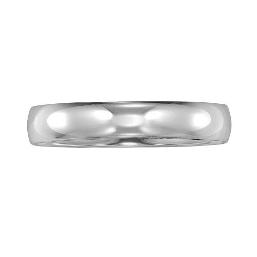 14k White Gold Wedding Band by Cherish Always in Tammy