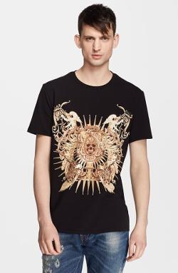Skull Angel Graphic T-Shirt by Just Cavalli in The Disappearance of Eleanor Rigby
