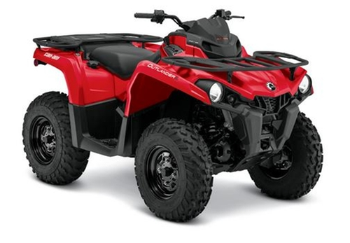 Outlander L 450 ATV by Can-Am in Vacation