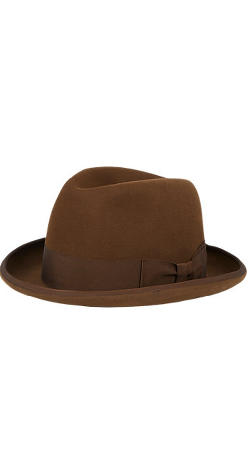 Homburg Fedora Hat by Barbisio in Mission: Impossible - Rogue Nation
