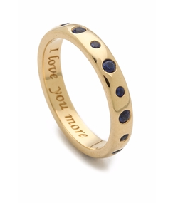 I Love You More Ring by Monica Rich Kosann in The Intern
