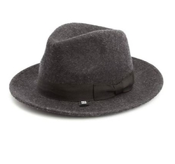 Wool Fedora Hat by Block Headwear in Side Effects