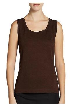 Santana Knit Tank Top by St. John in Couple's Retreat