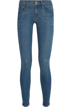 Le Skinny De Jeanne Mid-Rise Jeans by Frame Denim in Bridesmaids