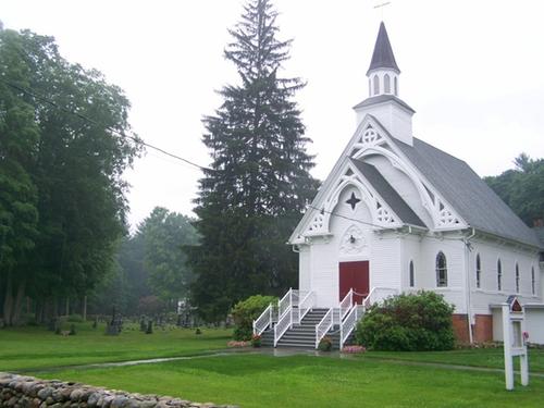 Saint Bridget Catholic Church Sharon, Connecticut in A Walk in the Woods