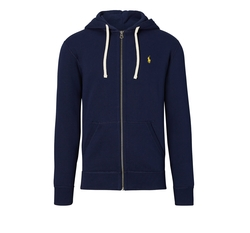 Cotton Blend Fleece Hoodie by Ralph Lauren in Keeping Up With The Kardashians