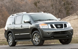 Armada SUV by Nissan in Vacation