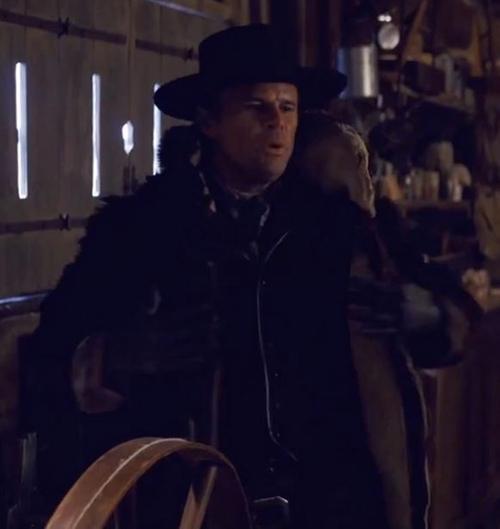 Custom Made 'Sheriff Chris Mannix' Fur Coat by Courtney Hoffman (Costume Designer) in The Hateful Eight