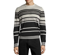 Striped Crewneck Sweater by Diesel in Supergirl