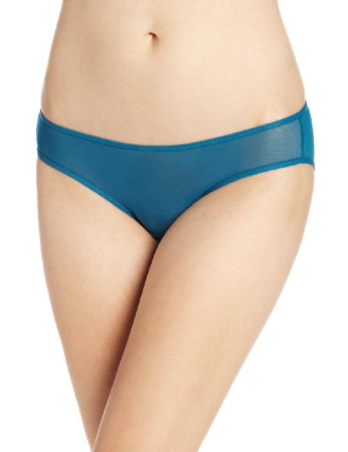 Women's Mesh Ruched Bikini Panty by Splendid in The Wolf of Wall Street