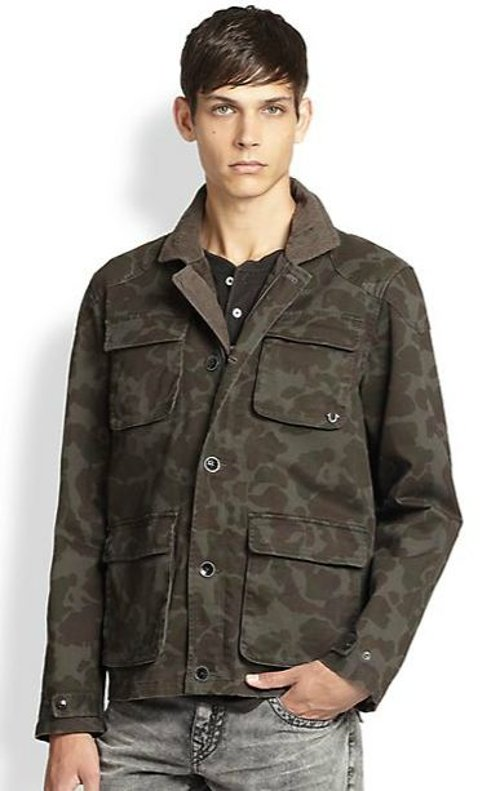 Camo Military Jacket by True Religion in Need for Speed