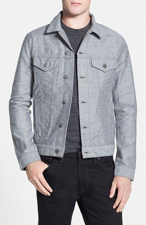 Lowell Denim Jacket by J Brand in Birdman