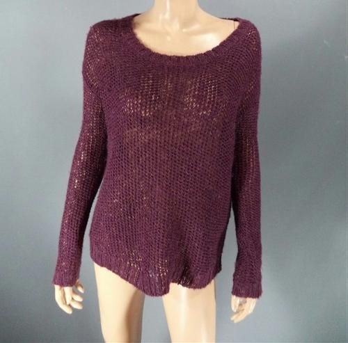 Drape Shoulder Knitted Sweater by VIP Fan Auctions in If I Stay