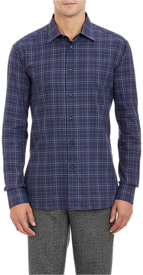 Plaid Shirt by Brioni in The Second Best Exotic Marigold Hotel