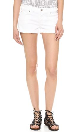 Roll Up Shorts by 7 For All Mankind in Neighbors