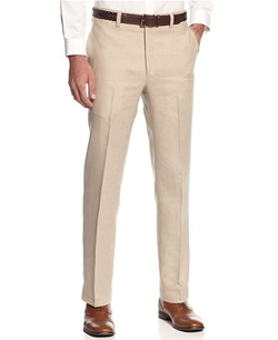 Solid Linen Dress Pants by Lauren Ralph Lauren in Bridge of Spies