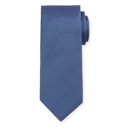 Micro-Houndstooth Silk Tie by Eton in Designated Survivor