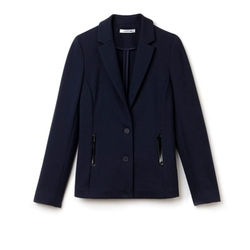 Milano Cotton Stretch Blazer by Lacoste in Friends From College